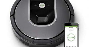 iRobot Roomba 960 der Volks Saugroboter mit starker Saugkraft 2 Multibodenbuersten 310x165 - iRobot Roomba 960 der Volks-Saugroboter mit starker Saugkraft, 2 Multibodenbürsten, Navigation für mehrere Räume, lädt sich auf und setzt Reinigung fort, Ideal für Tierhaare, App-Steuerung,Dirt Detect