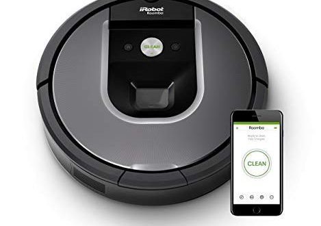iRobot Roomba 960 der Volks Saugroboter mit starker Saugkraft 2 Multibodenbuersten 469x330 - iRobot Roomba 960 der Volks-Saugroboter mit starker Saugkraft, 2 Multibodenbürsten, Navigation für mehrere Räume, lädt sich auf und setzt Reinigung fort, Ideal für Tierhaare, App-Steuerung,Dirt Detect